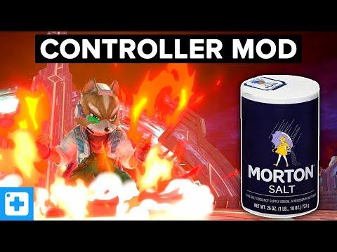 Этот контроллер использует настоящую соль для быстрого выхода из игры