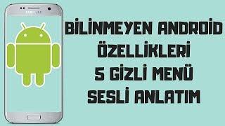 Android Telefonların Gizli Özellikleri. (Samsung) 5 Gizli Özellik