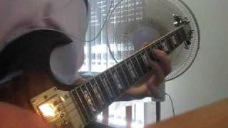 """This War Is Ours (Guillotine Pt II)"" - Escape The Fate guitar cover + INTRO SWEEPS"