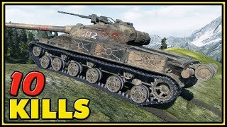 Object 907 - 10 Kills - World of Tanks Gameplay