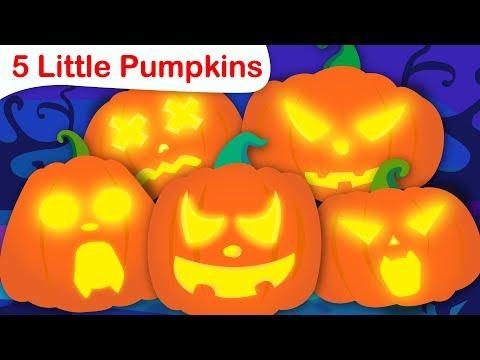 Five Little Pumpkins  Halloween Songs  Nursery Rhymes and Fun Songs for Kids  Little Angel