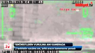 2x PKK YDG-H Teröristin Vurulma ani Termal Kamerada