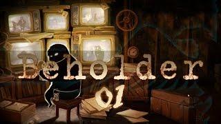 Beholder #01 Secret Police Indie Game - Let
