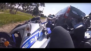 Extremely Close Calls, Road Rage, Crashes & Scary Motorcycle Accidents [EP #65]