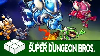Super Dungeon Bros. | PC Gameplay &  First Impressions