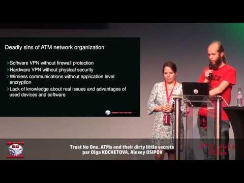 HackerZVoice NDH2K16 Trust No One. ATMs and their dirty little secrets