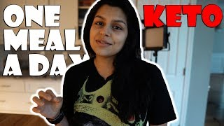 Eating Out on Keto | One Meal a Day | Trying Keto Ice Cream