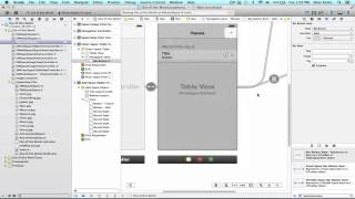iOS Programming Tutorial - Implementation of Segue with UITableView Application - 23