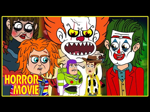 Horror Animation Compilation w/ Joker, Pennywise, Chucky, Annabelle AND MORE!