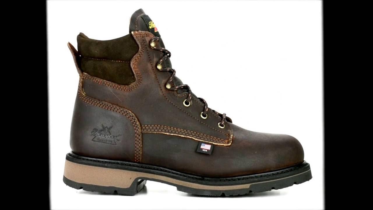 f43bc401d7b Men's Thorogood 6 Inch Steel Toe Work Boot USA Made 804-4203 @  Steel-Toe-Shoes.com