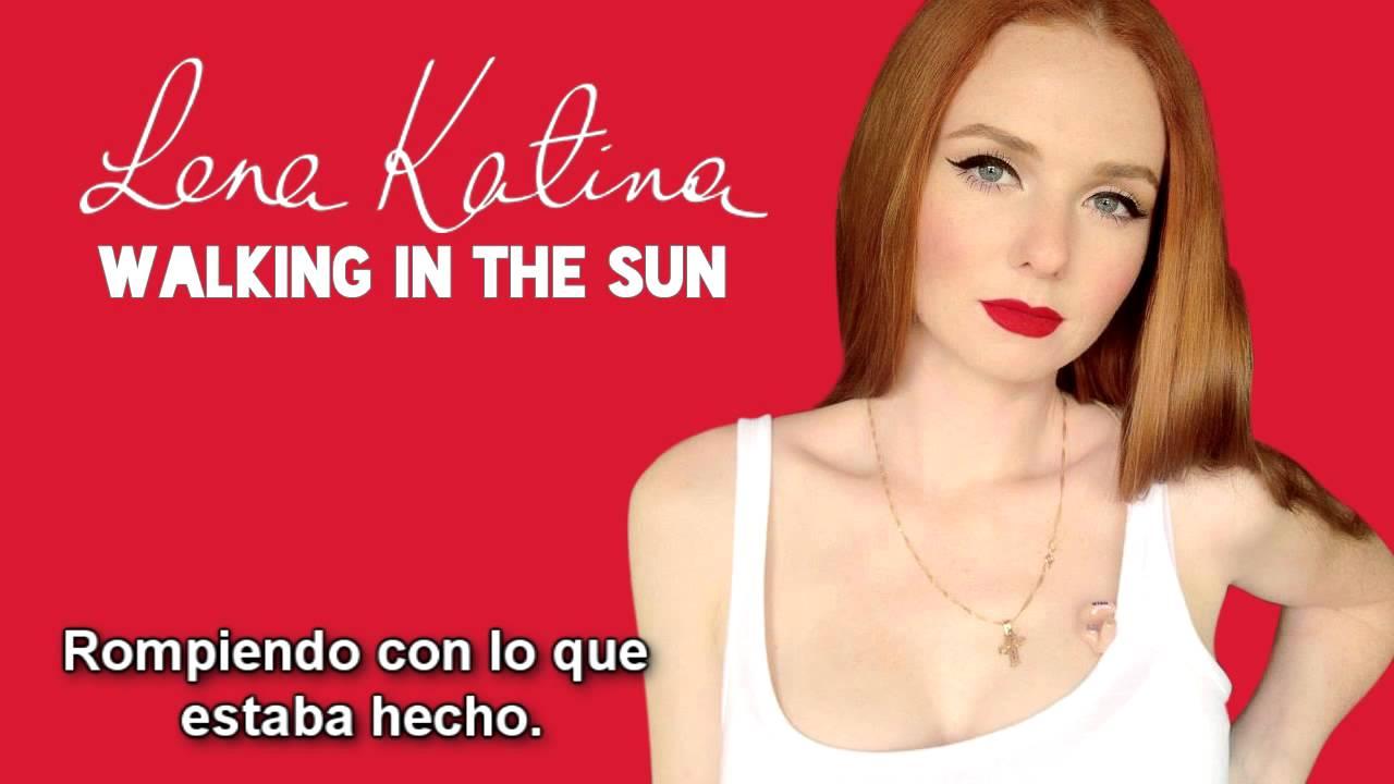 Lena katina walking in the sun new song 2013 espaol youtube stopboris Choice Image
