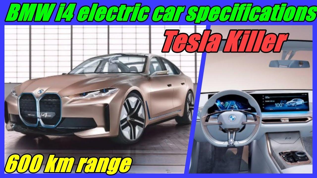 BMW i4 concept electric car specs//BMW i4 range//BMW i4 ...