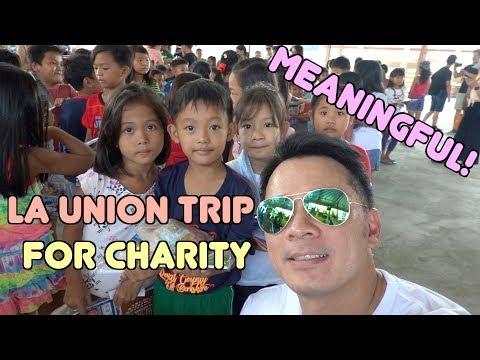 Meaningful La Union trip for charity 分發文具給偏遠在鄉下的小孩