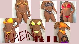 Affordable💰Shein Curvy/Thick bikini 👙 TryOn Haul