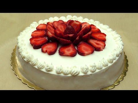 recette-de-gâteau-aux-fraises---cake-éponge