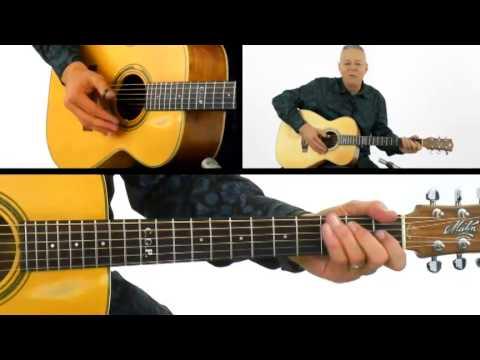 Tommy Emmanuel Guitar Lesson - #12 Palm Mute - Fingerstyle Milestones