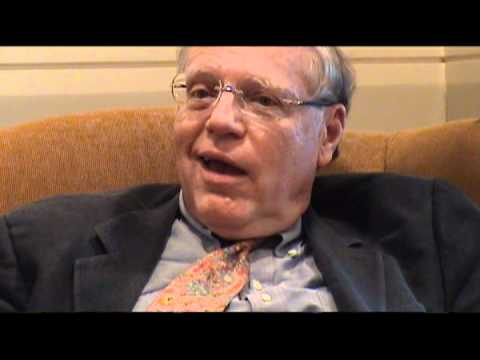 John Beebe in discussion with Beverley Zabriskie -