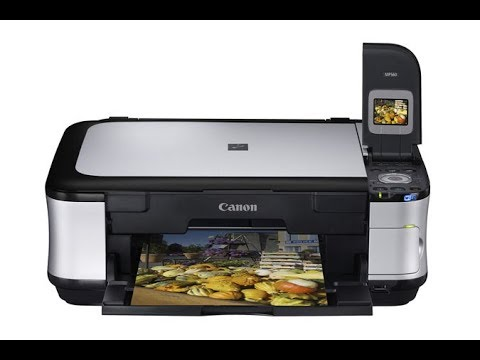 Canon MP 560 - How To Clean Printhead