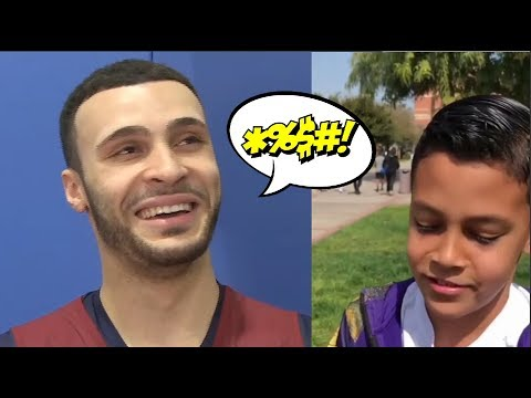 LARRY NANCE JR REJECTS KID LOOKING FOR AN AUTOGRAPH