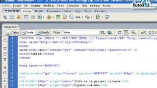 Tutorial 16.- Rowspan y Colspan. Desarrollo de Sitios Web.