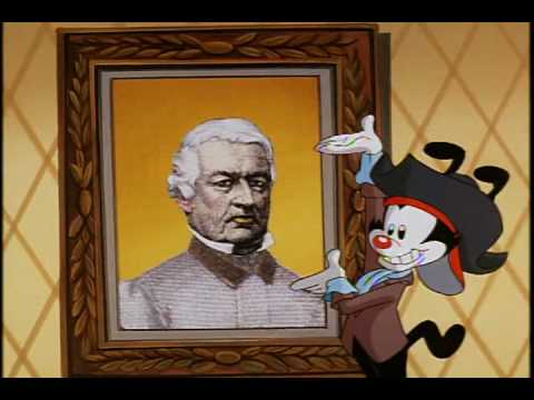 Animaniacs  The Presidents Song