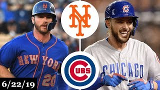 New York Mets vs Chicago Cubs - Full Game Highlights | June 22, 2019 | 2019 MLB Season
