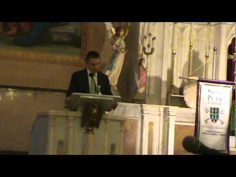 Catholic Schools Week Address Representing Camden Catholic High School