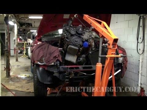 2002 Dodge Ram 1500 Engine Swap 47L Part 1  EricTheCarGuy  YouTube