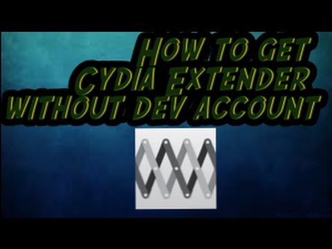 How to get Cydia Extender for FREE and WITHOUT DEVELOPER ACCOUNT!