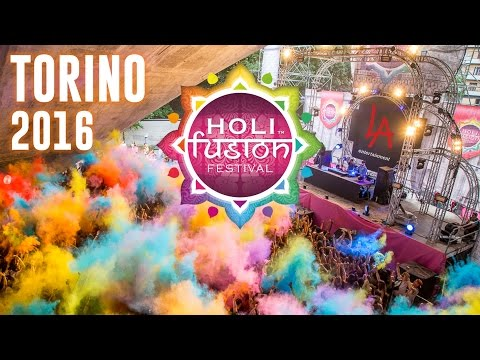 Holi Fusion Festival Torino 2016 - Official Aftermovie