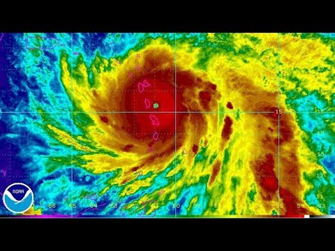 Here comes Maria: Puerto Rico braces for second Category 5 hurricane in weeks