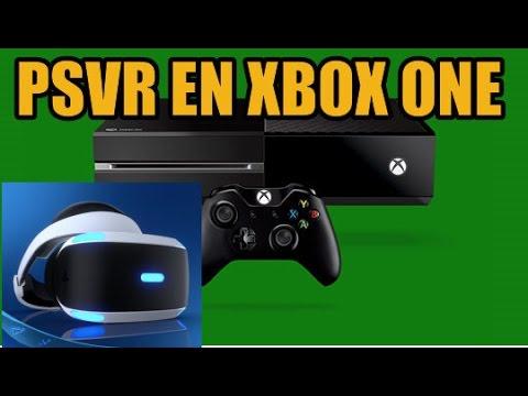 PlayStation VR en Xbox One