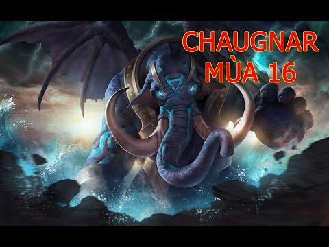 Cách Chơi Chaugnar Mùa 16 | Cách chơi, cách di chuyển, phụ trợ, phù hiệu, ngọc Chaugnar Liên Quân.