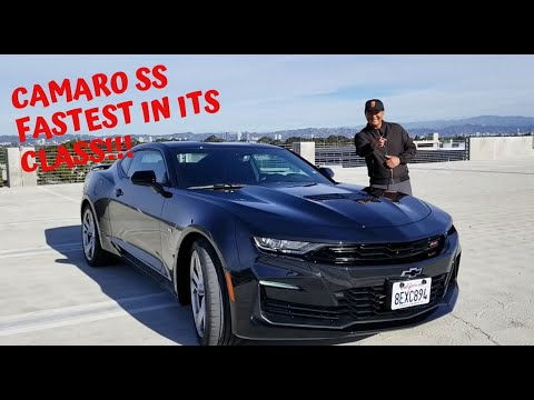 2019 Chevrolet Camaro SS Almost 500 HP! 0-60 Damn Fast!!! Full Review- Ran Ds Reviews