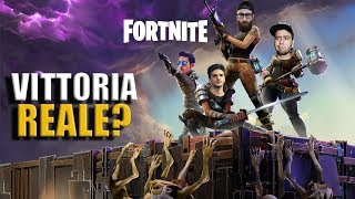 The SERGEANT MARZANO WITH THE REAL VITTORY ON FORTNITE? w/GabboDSQ, Marza & Delux