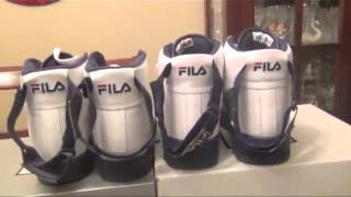 FILA FX 100 SL vs. FILA FX 100 PACKER SHOES REVIEW AND ON FEET 2012