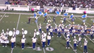 """San Jose State University Marching Band """"Queen"""" Halftime Show Oct 14, 2011"""