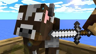 Cow Life - Craftronix Minecraft Animation thumbnail