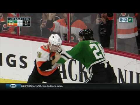 Johns pops Schenn with upper cuts in spirited tilt