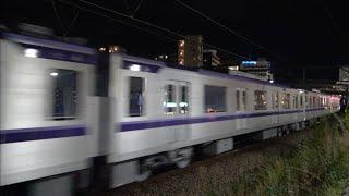 東京メトロ半蔵門線18000系18102F 甲種輸送