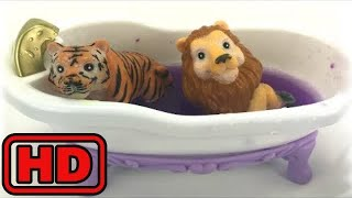 Kid -Kids -ZOO Animals Bath Time/Learn Colors And Animals/Finger Family Nursery Rhyme/Farm Animals