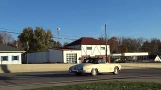 1960 Mercedes Benz 190sl test drive