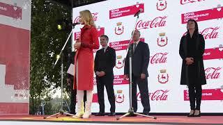 Наталья Водянова в Нижнем Новгороде 20.09.2018