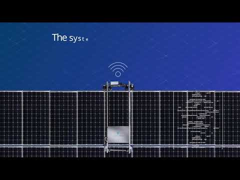KIC Ventures automatic system for dry cleaning of solar panels