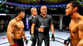 Bruce Lee vs. Benson Henderson (EA Sports UFC 2) - CPU vs. CPU