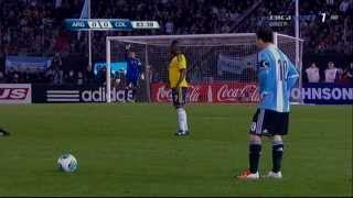 Lionel Messi vs Colombia 7.6.2013 (World Cup 2014 Qualifiers)