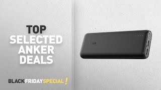 Black Friday Anker Deals: Anker 20000mAh Portable Charger PowerCore 20100 - Ultra High Capacity