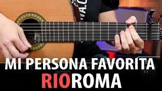Mi Persona Favorita Acordes para guitarra ( Cover letra y demo )