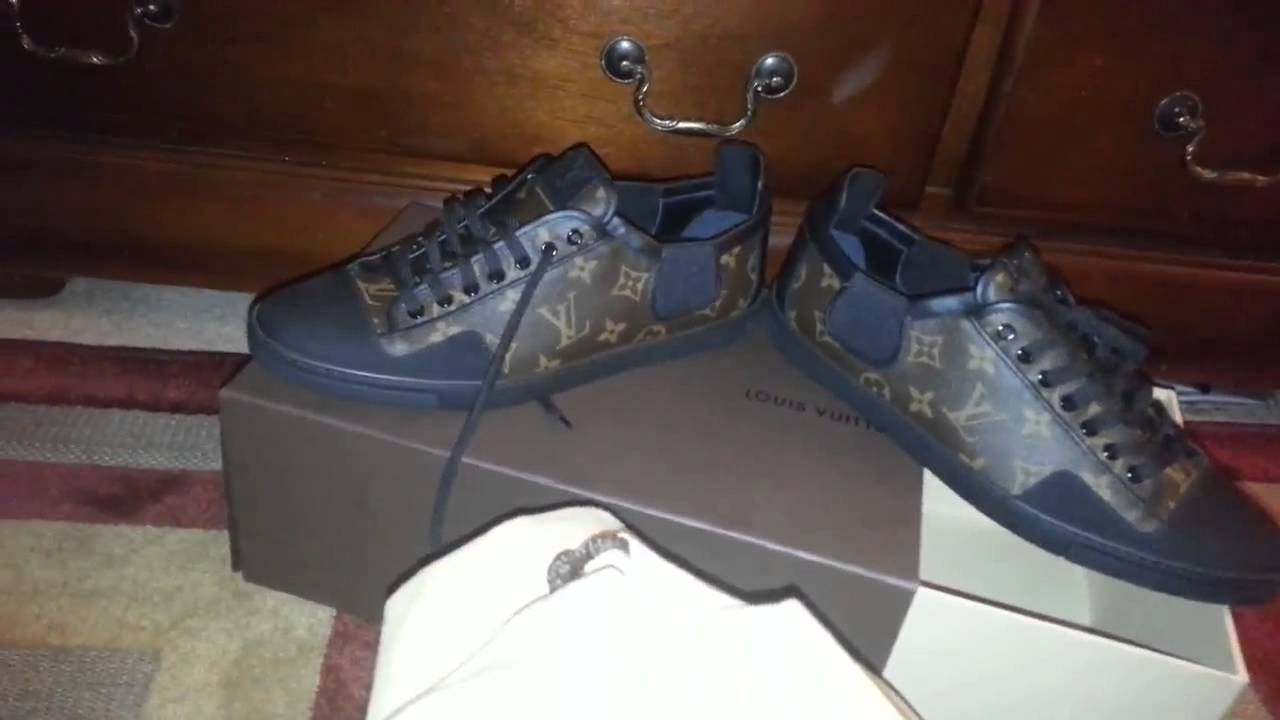 Authentic Louis vuitton mens sneakers slalom Review - YouTube 544f2526e79