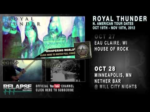 ROYAL THUNDER - Fall 2012 North American Tour Teaser